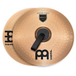 "meinl 14"" marching bronze cymbal pair"