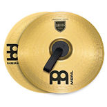 "meinl 14"" marching brass cymbal pair"