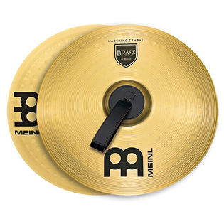 meinl 16&quot; marching brass cymbal pair