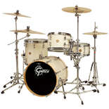 "gretsch new classic bop kit shell pack drum set with 18"" bass"