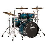 "gretsch renown maple 4 piece groove kit shell pack drum set with 20"" bass"
