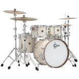 "gretsch renown 4 piece groove shell pack - 20"" bass drum"