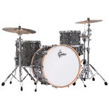 "gretsch renown 3 piece rock shell pack drum set - 24"" bass drum"