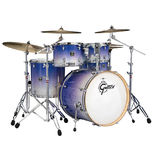"gretsch catalina birch 5 piece standard shell pack drum set - wrap finish with 14x6.5"" snare drum"