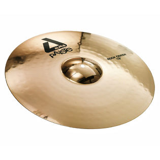 "paiste 18"" alpha brilliant rock crash cymbal"