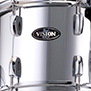 mirror chome with chrome hardware pearl vision vb 5-piece fusion shell pack