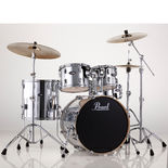 "pearl vision vb 5-piece hybrid drum set with 22"" bass"