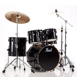 "pearl vision vb 5-piece fusion drum set with 20"" bass"