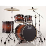 "pearl vision vba 5-piece fusion drum set with 20"" bass"
