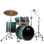 "pearl vision vba 5-piece standard drum set with 22"" bass"