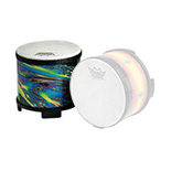 remo tall finger drum - cosmic wrap finish