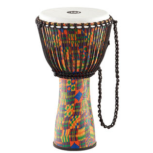 meinl journey series rope tuned djembe kenyan quilt - large