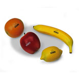 meinl nino botany shakers - fruit