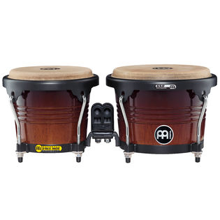 meinl free ride series bongos - black hardware