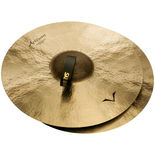 "sabian 18"" artisan traditional symphonic medium heavy cymbals - extra dark"