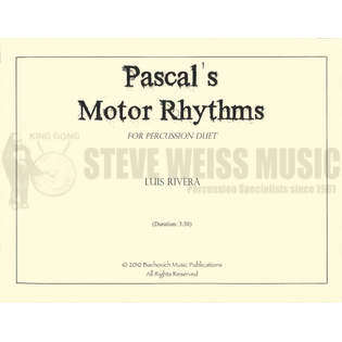 rivera-pascal&#039;s motor rhythms (sp)-p