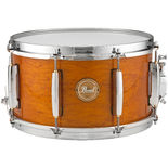 pearl poplar/mahogany limited edition 13x7 power piccolo snare drum - liquid amber