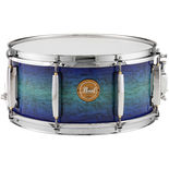 pearl poplar/maple limited edition 14x6.5 snare drum - artisan ii ultra marine lacquer