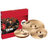"sabian b8 two pack cymbal set with free 14"" crash"