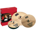 sabian b8 performance cymbal set with free crash