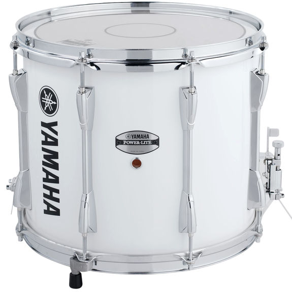 Yamaha Power Lite Marching Snare Drum White 13x11