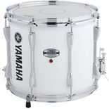 "yamaha 13"" power-lite marching snare drum -  white"