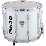 "yamaha 14"" power-lite marching snare drum -  white"