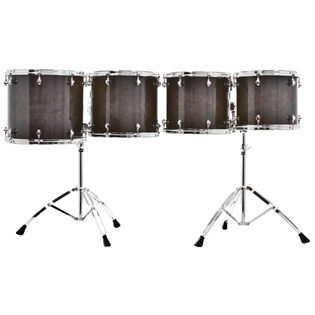 majestic prophonic series double headed concert toms