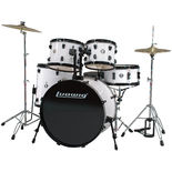 ludwig accent cs combo driver drum set with 22&quot; bass