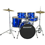 "ludwig accent cs combo fusion drum set with 20"" bass"