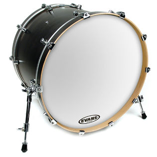 evans eq3 resonant smooth white bass drumhead