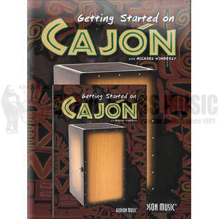 wimberly-gettin started on cajon (bk. w/dvd)