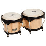 cp deluxe wood bongos - natural