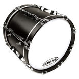 evans ms1 white marching bass drumhead