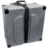 humes &amp; berg enduro square snare drum case - 14x6.5 granite