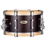 pearl philharmonic concert snare drum - african mahogany 15x8