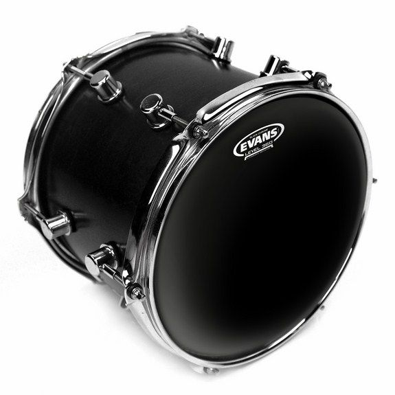 evans black chrome drum head snare drum heads tom heads steve weiss music. Black Bedroom Furniture Sets. Home Design Ideas