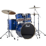pearl exx export drum set with 20′ bass drum and hardware