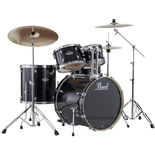 pearl exx export fusion drum set with 22′ bass