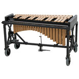 adams 3.0 octave concert series gold vibraphone with field frame