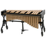adams 3.0 octave concert series gold vibraphone with voyager frame and motor