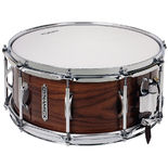 dynamicx 14x6.5 unibody snare drum - walnut
