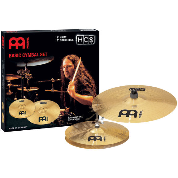 meinl hcs basic cymbal pack with crash ride cymbal packs and cymbal sets cymbals gongs. Black Bedroom Furniture Sets. Home Design Ideas