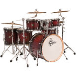 gretsch catalina maple ultimate 8-piece shell pack - dark cherry burst