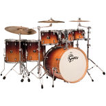 gretsch catalina maple ultimate 8-piece shell pack - mocha fade