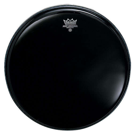 remo ebony emperor drum head snare drum heads tom heads drum set drum heads steve weiss music. Black Bedroom Furniture Sets. Home Design Ideas