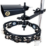 lp tambourine and cowbell pack with mount