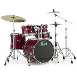 "pearl export 5 piece lacquer shell pack with 22"" bass drum"