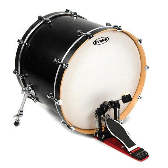evans g2 batter coated bass drum head bass drum heads steve weiss music. Black Bedroom Furniture Sets. Home Design Ideas
