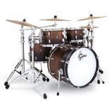 "gretsch 4 piece renown walnut shell pack - 20"" bass drum"